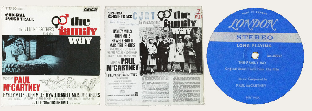 Family Way Canadian LP
