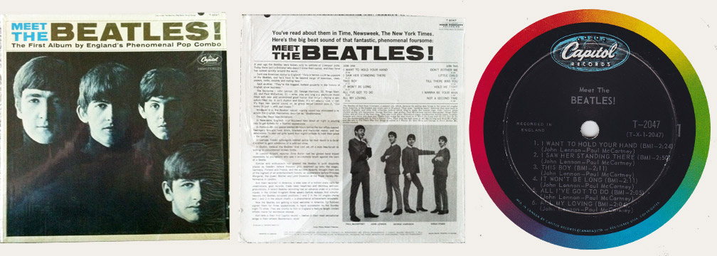 Meet The Beatles Canadian LP