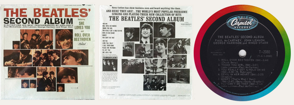 Second Album Canadian LP