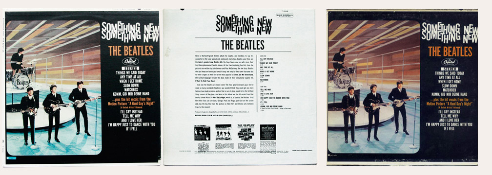 meet the beatles back cover