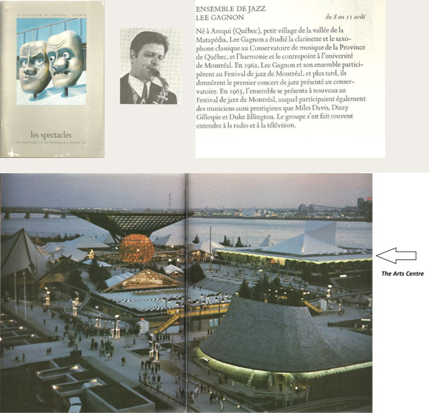 lee gagnon at expo 67