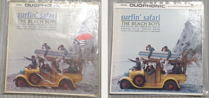 Stereo Beach Boys LP