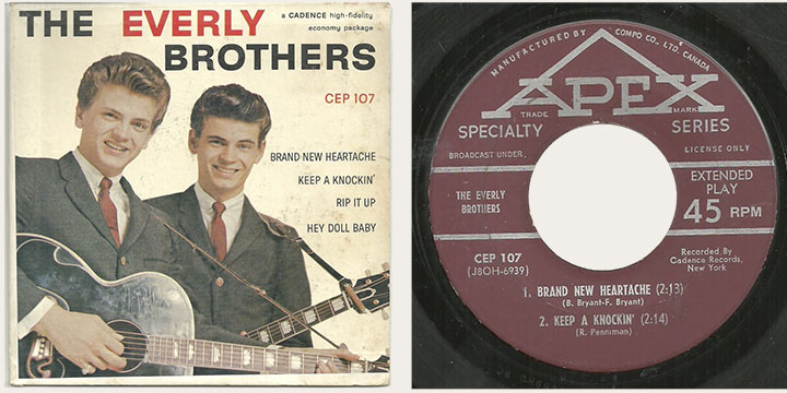 Everly Brothers 45