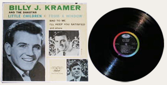 Billy Jay Kramer Top Twelve Hits Canadian LP