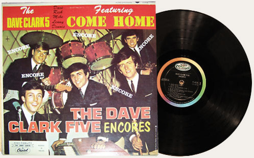 Dave Clark Five Encores! Canadian LP