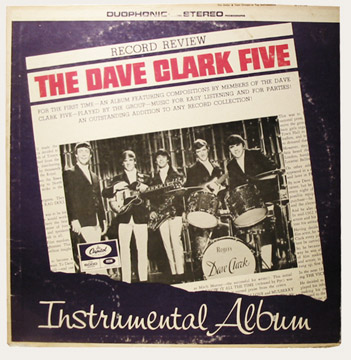 Dave Clark Five Instrumental Album Canadian LP