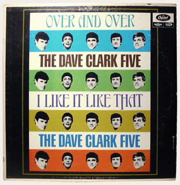 Dave Clark Five Over and Over Canadian LP