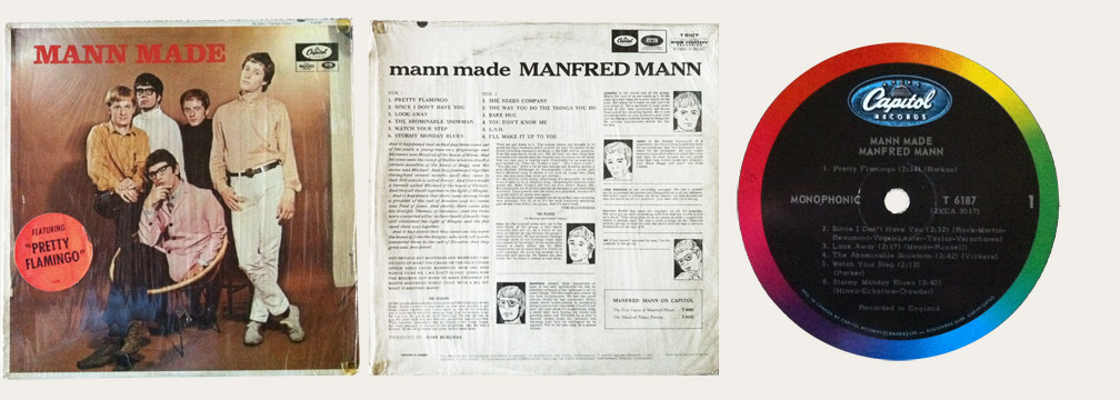 Manfred Mann Made Canadian LP