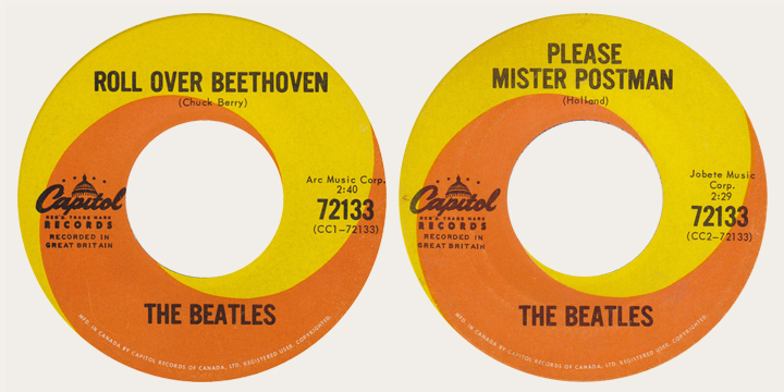 Roll Over Beethoven Canadian 45
