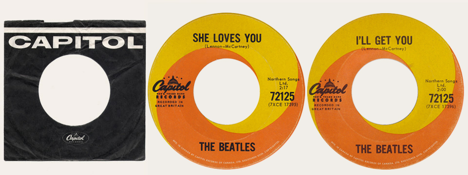 She Loves You 45