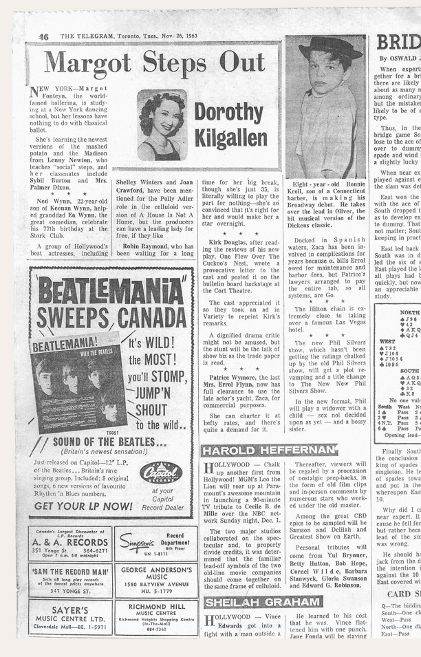 beatlemania advert