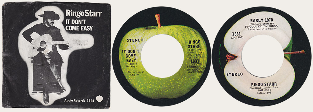 It Don't Come Easy Canadian Apple 45