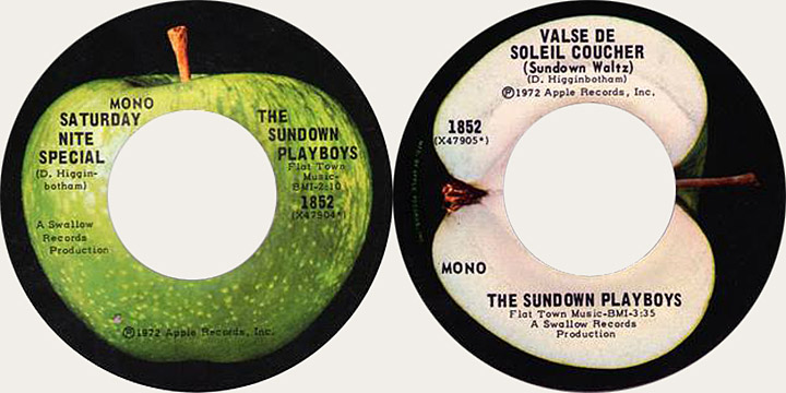 Sundown Playboys Canadian Apple 45
