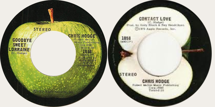 Chris Hodge Goodbye Sweet Lorraine Canadian Apple 45