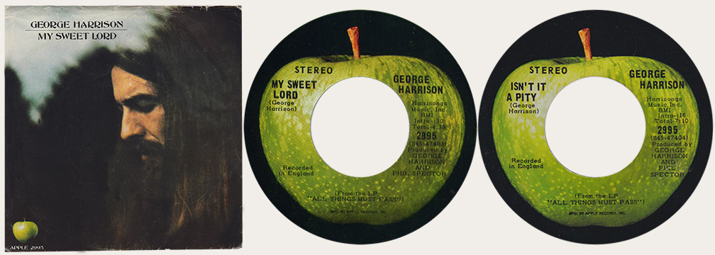 My Sweet Lord Canadian Apple 45