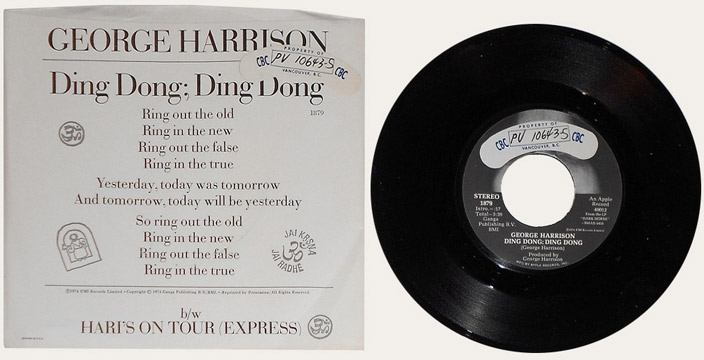 Ding Dong Promo Canadian Apple 45