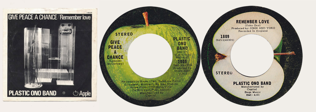 Give Peace A Chance Canadian Apple 45