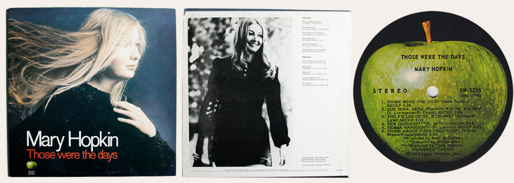 Mary Hopkin Those Were The Days Canadian LP