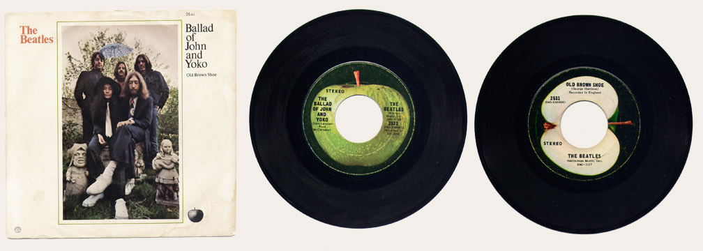 Ballad Of John And Yoko Canadian 45