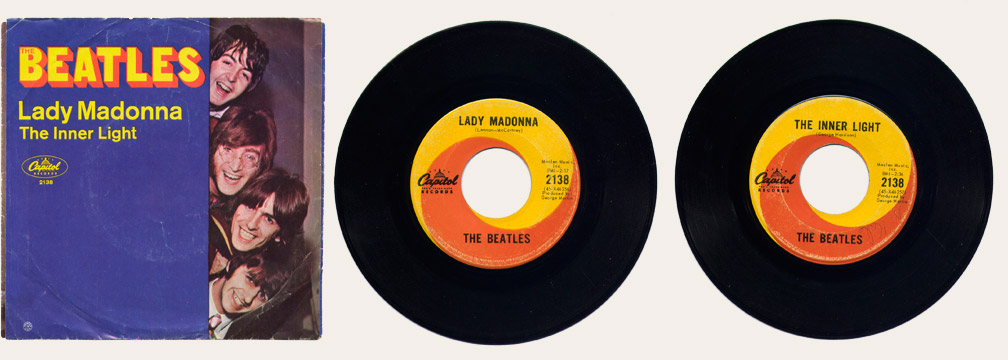 Lady Madonna Canadian 45