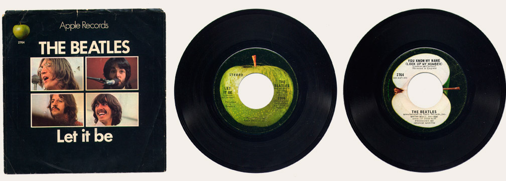 let it be 45 rpm
