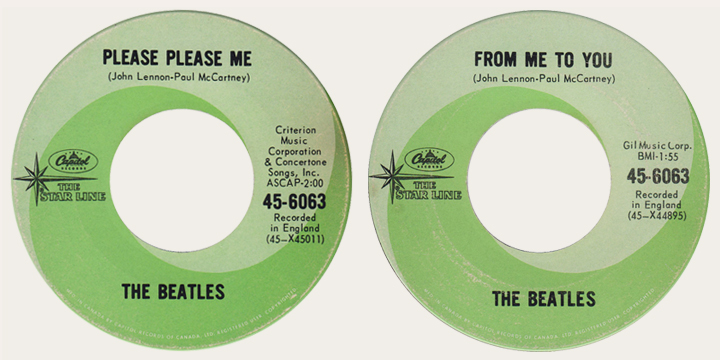 please please me starline 45 rpm