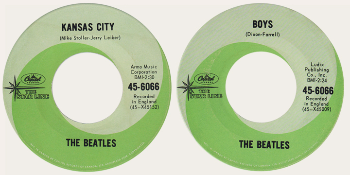 kansas city starline 45 rpm
