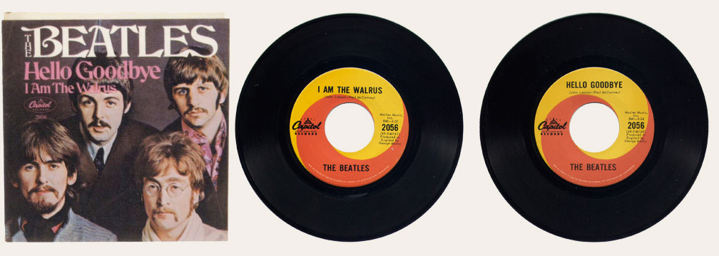 I am The Walrus Canadian 45
