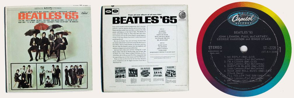 Beatles 65 Canadian LP
