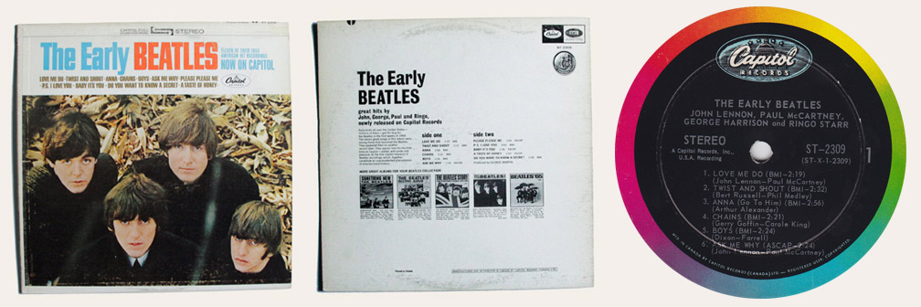 Early Beatles Canadian LP