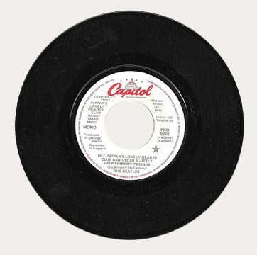 Sgt Pepper's Canadian Promo 45