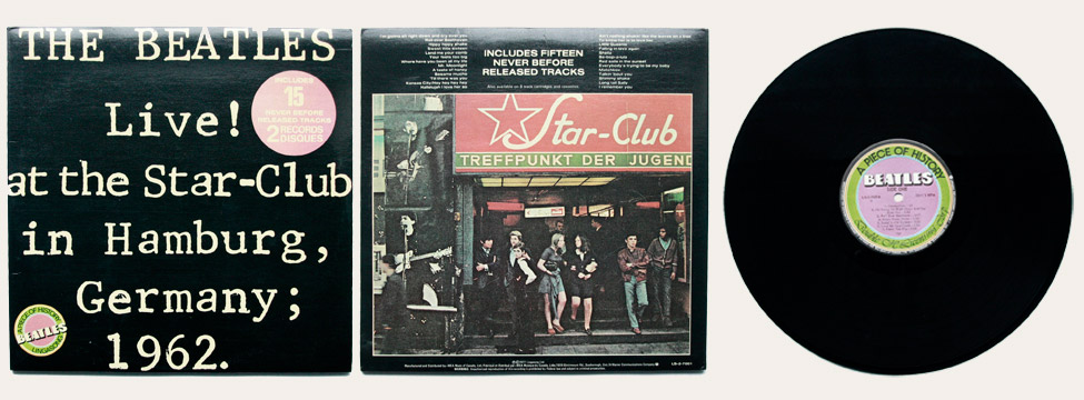 Live At The Star Club Canadian LP