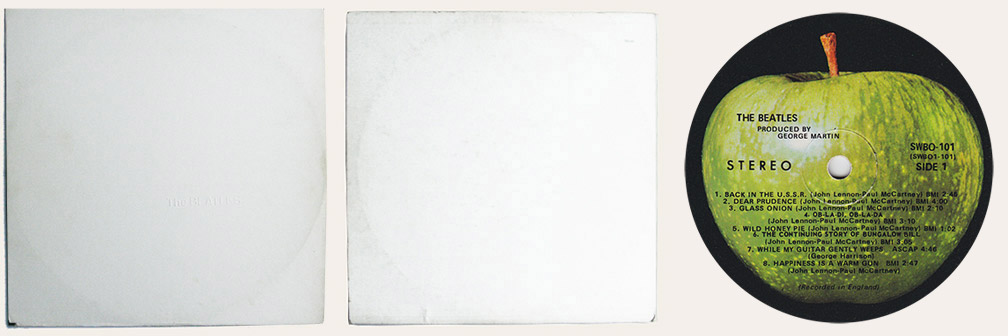 White Album Canadian LP