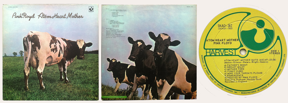 Pink Floyd Atom Heart Mother Canadian LP